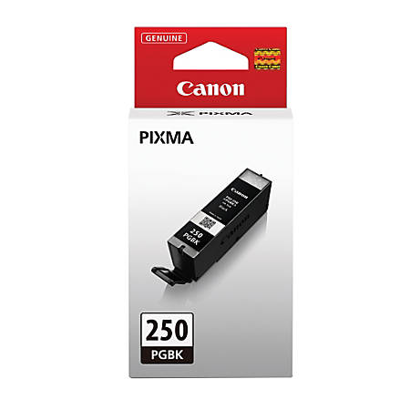 6497B001   Canon PGI-250   Original Canon Ink Cartridge – Black