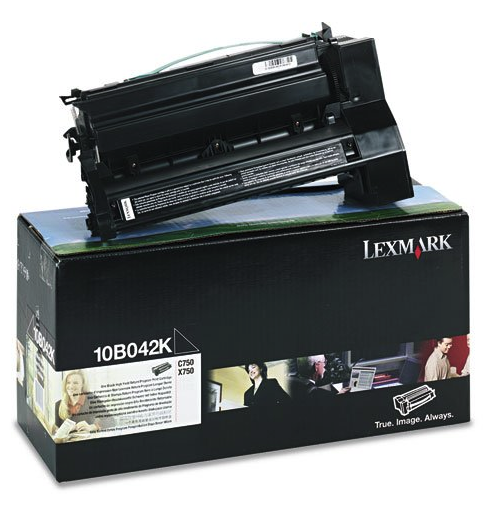 Original Lexmark 10B042K C750 Black Prebate High-Yield Toner Cartridge