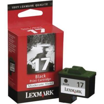 Original Lexmark #17 10N0217 Standard-Yield Inkjet Cartridge  Black