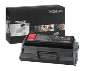 12A7305 | Original Lexmark High-Yield Toner Cartridge – Black