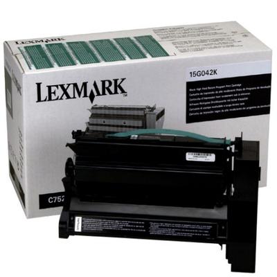 Original Lexmark 15G042K Return Program High-Yield Laser Toner Cartridge  Black