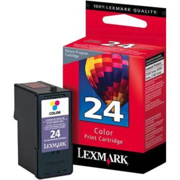 Original Lexmark 24 18C1524 Return Program Ink Cartridge  Tri-Color
