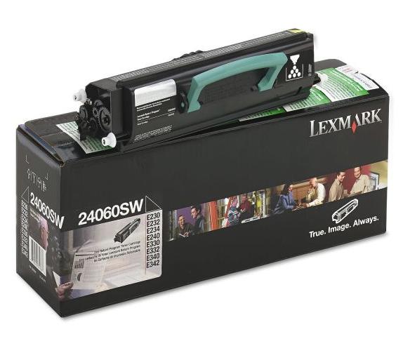Original Lexmark 24060SW Black LaserJet Toner Cartridge