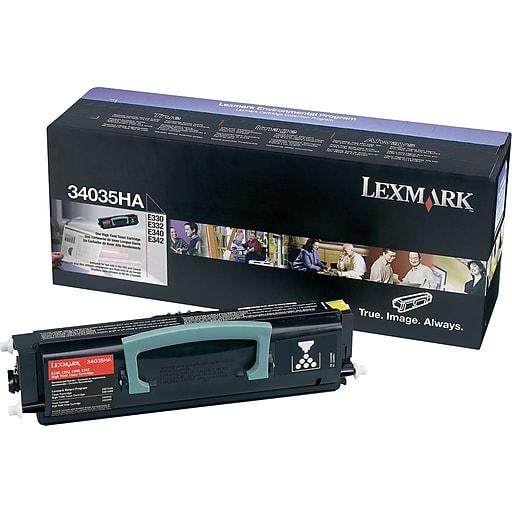 Original Lexmark 34035HA Black High-Yield Toner Cartridge