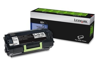 Original Lexmark 52D000G Unison 521 Return Program Toner Cartridge