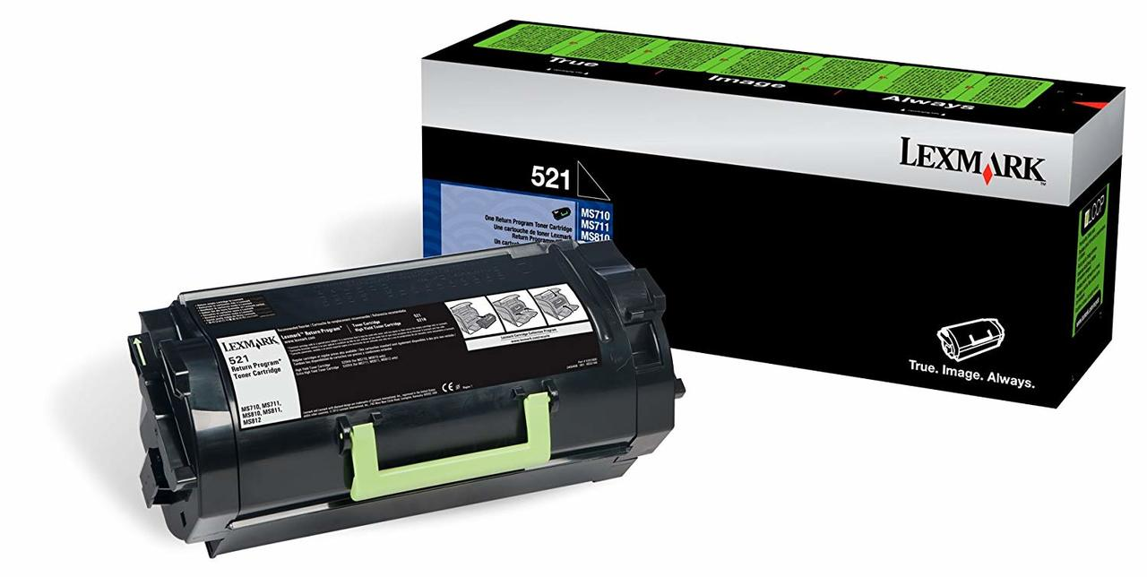52D1000   Original Lexmark Toner Cartridge – Black