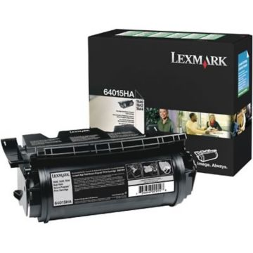 Original Lexmark 64015HA Return-Program Toner Cartridge  High Yield