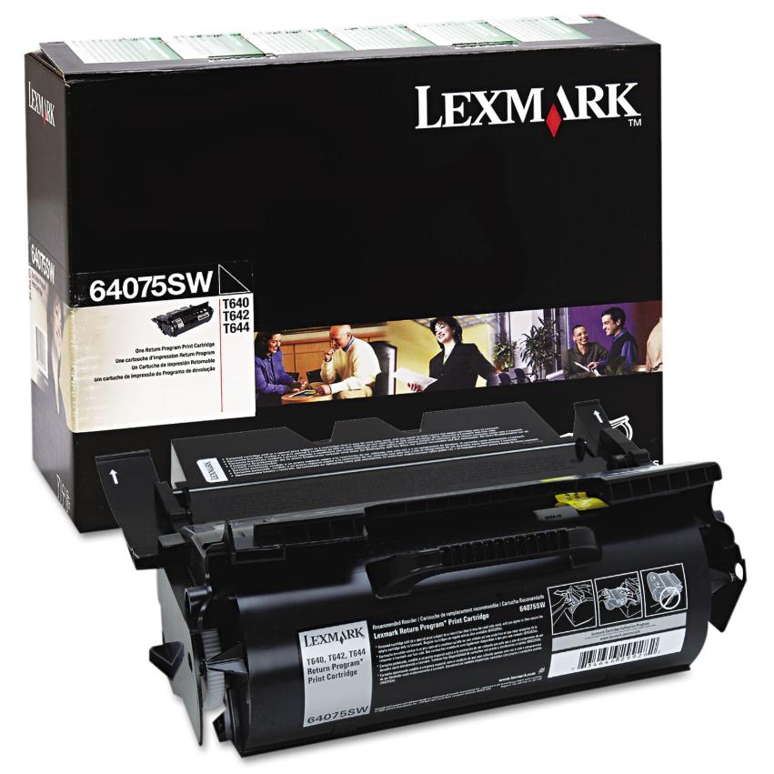 Original Lexmark 64075SW T64x Black Return Program Toner Cartridge Taa