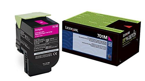 70C00MG   Original Lexmark Toner Cartridge – Magenta
