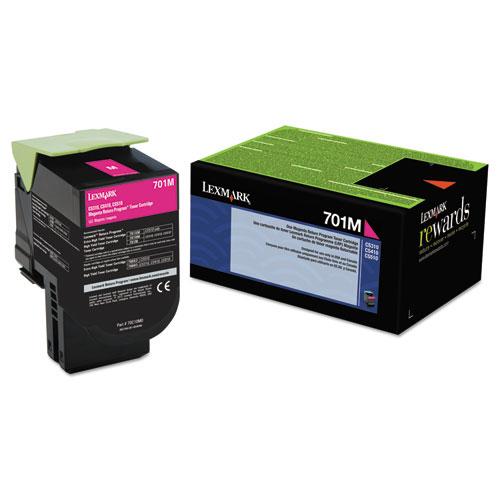 Original Lexmark 701M 70C10M0 Return Program Magenta Laser Toner Cartridge