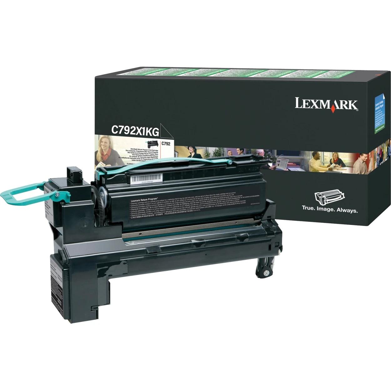 Original Lexmark C792X1KG C792 Black Extra High Yield Toner Cartridge