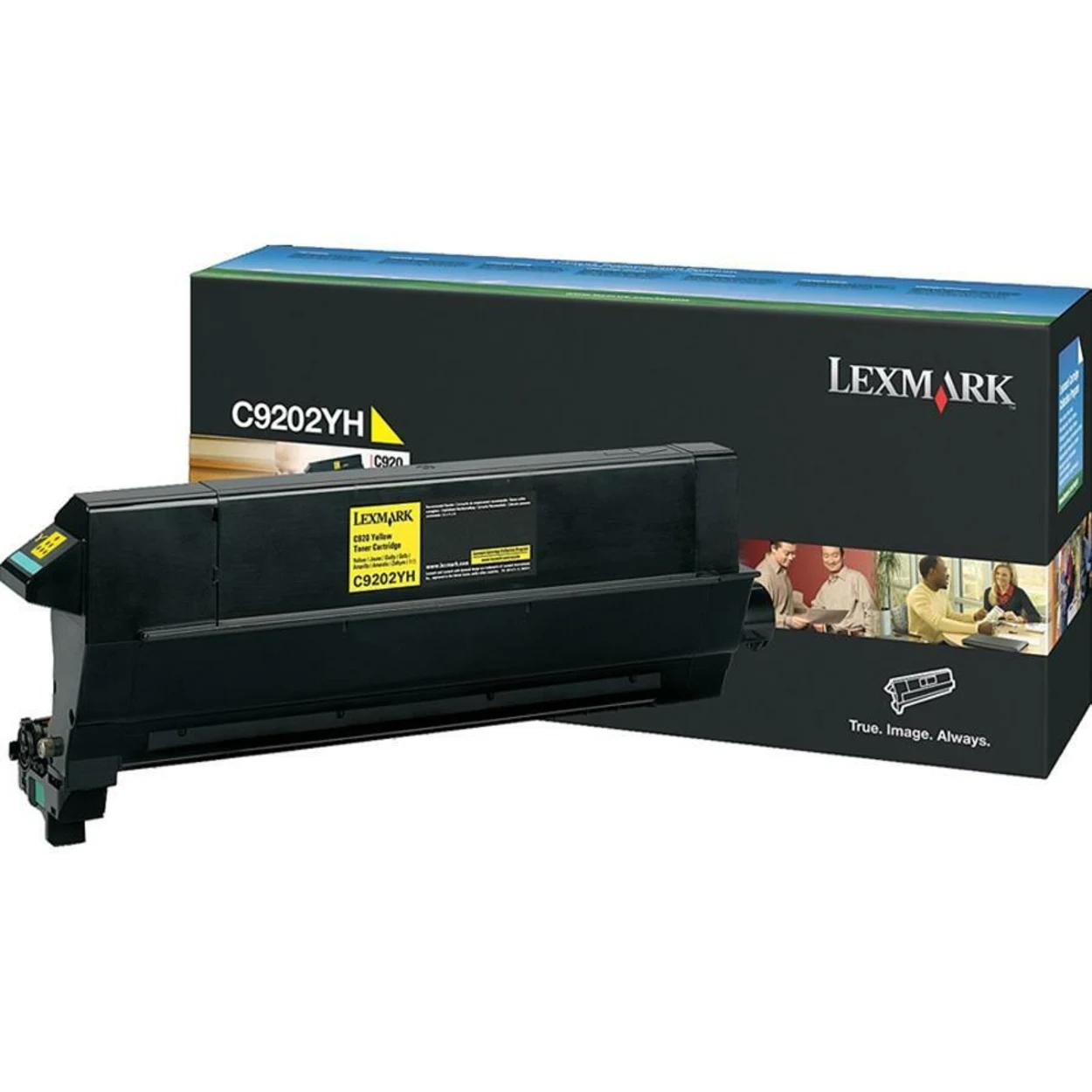 Original Lexmark C9202YH Laser Toner Cartridge  Yellow