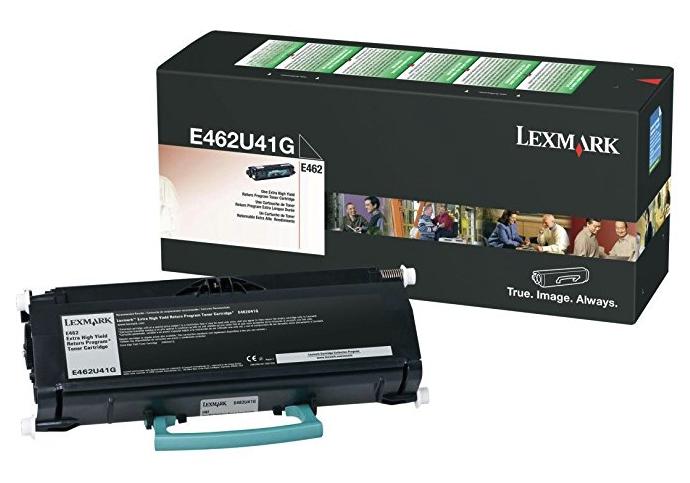 Original Lexmark E462U41G E462 Black Extra High-Yield Toner Cartridge Taa