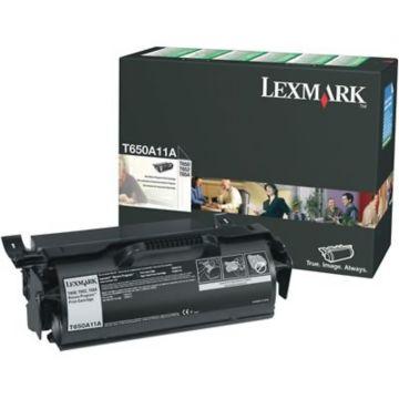 Original Lexmark T650A11A Return Program Laser Toner Cartridge  Black