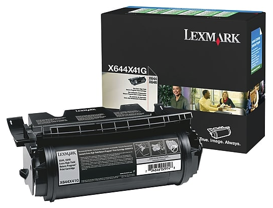 Original Lexmark X644X41G X644 Black Return Program Extra High-Yield Toner Cartridge Taa