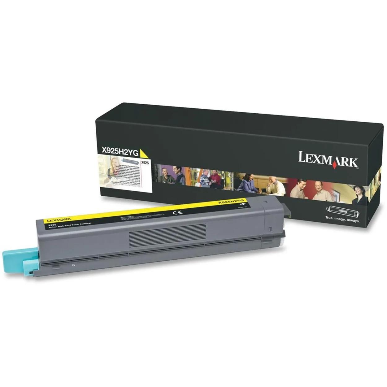 Original Lexmark X925 High-Yield Laser Toner Cartridge  Yellow