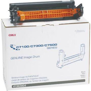 Original Okidata 41962804 Image Drum for C7100, C7300, C7500 Printers  Black