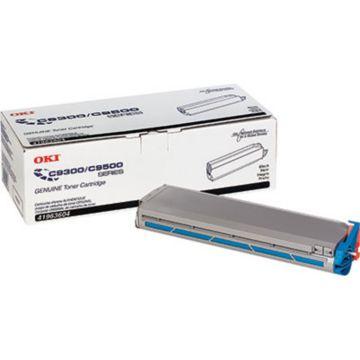 Original OKI 41963601 Type C5 Laser Toner Cartridge for C9300/C9500 Printers  Yellow