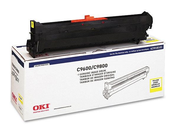 42918101 | Original Okidata C96/9650/9800 Drum - Yellow