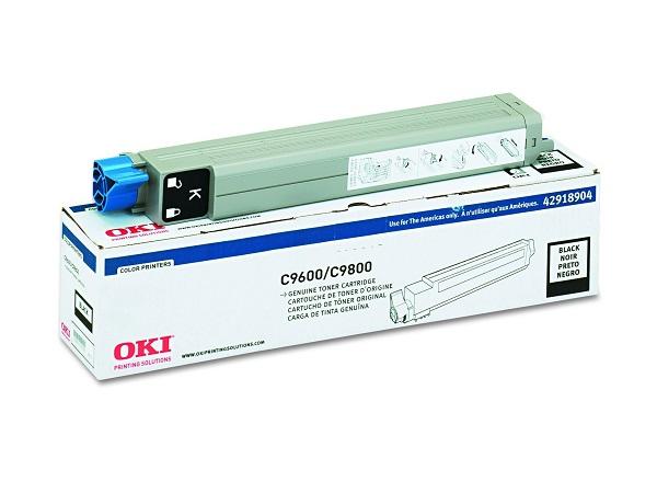 42918904 | Original Okidata C96/9650/9800 Toner Cartridge - Black