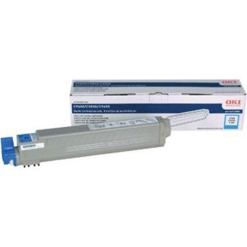 Original OKI 42918983 High-Yield Laser Toner Cartridge for C9650 Series  Cyan