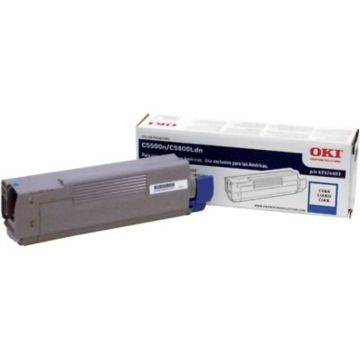 Original OKI 43324403 High Capacity Laser Toner Cartridge  Cyan