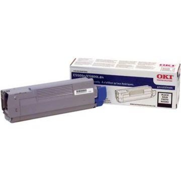 Original OKI 43324404 High Capacity Laser Toner Cartridge  Black