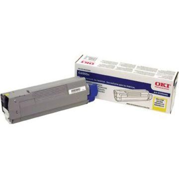 Original OKI 43324466 Laser Toner Cartridge for C6000N/DN  Yellow