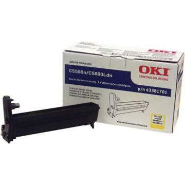 Original OKI 43381701 Laser Drum Cartridge  Yellow