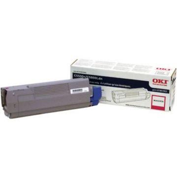Original OKI 43381902 Laser Toner Cartridge  Magenta