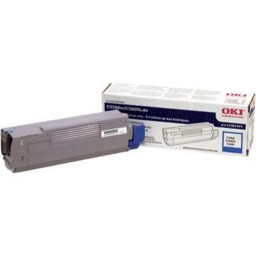Original OKI 43381903 Laser Toner Cartridge  Cyan