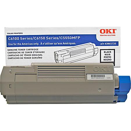 Original OKI 43865720 Laser Toner Cartridge for C6150  Black