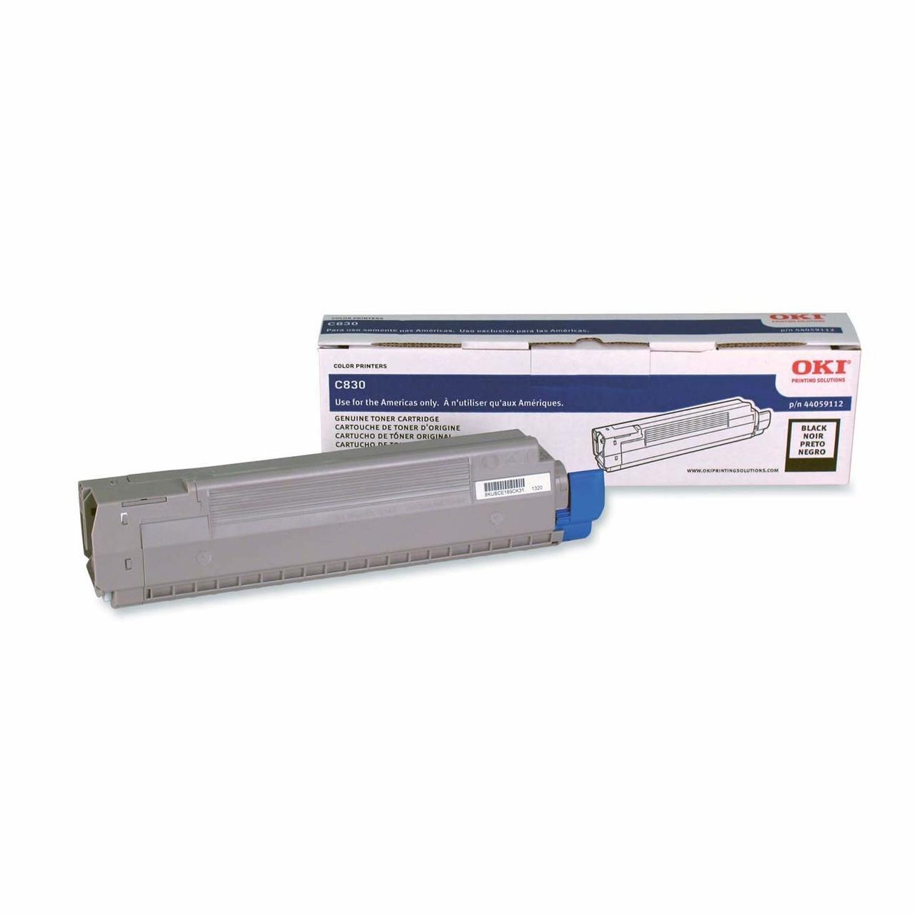 44059112 | Original Okidata C830 Toner Cartridge - Black