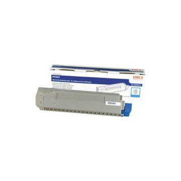Original OKI Cyan Toner Cartridge  44059215, High Yield