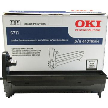 Original OKI 44318504 Laser Drum Cartridge  Black