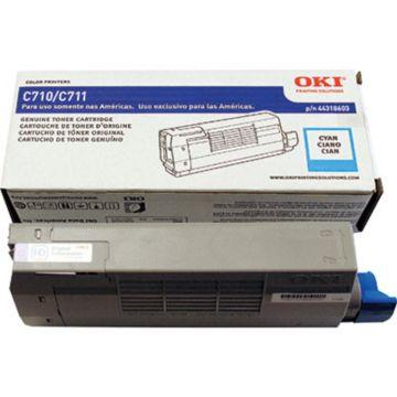 Original OKI 44318603 Laser Toner Cartridge  Cyan