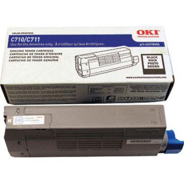 Original OKI 44318604 Laser Toner Cartridge  Black