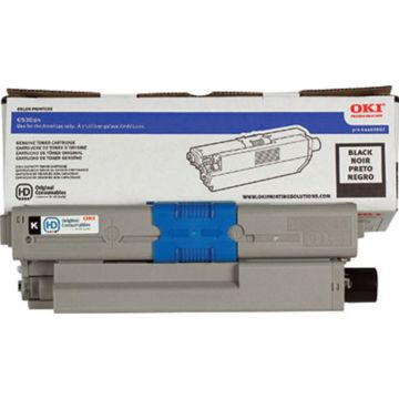 Original OKI 44469802 High-Yield Laser Toner Cartridge  Black