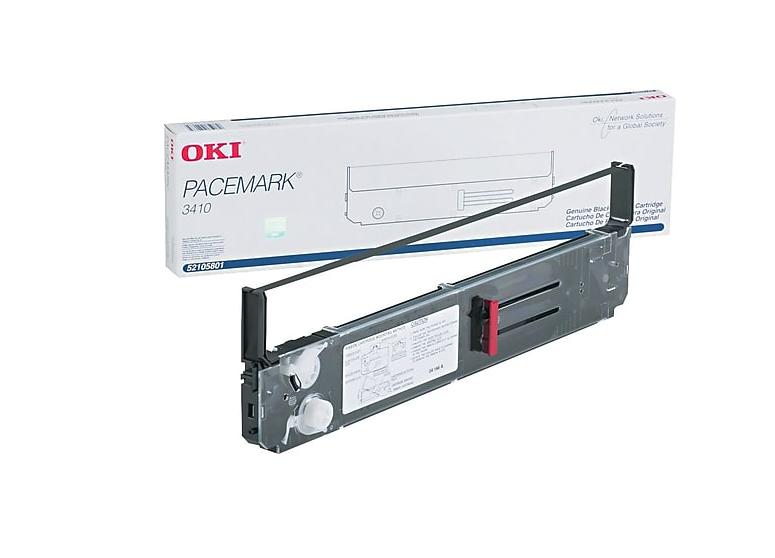 52105801 | Original OKI Nylon Printer Ribbon - Black