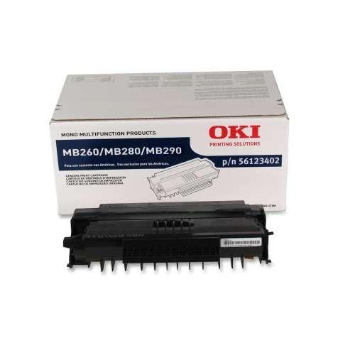 56123402   Original Okidata High-Capacity Toner Cartridge - Black