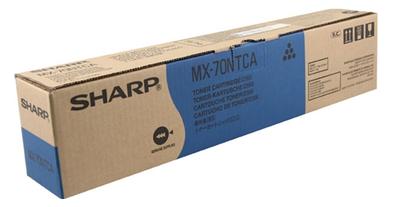 Original Sharp MX-70NTCA Cyan Toner Cartridge