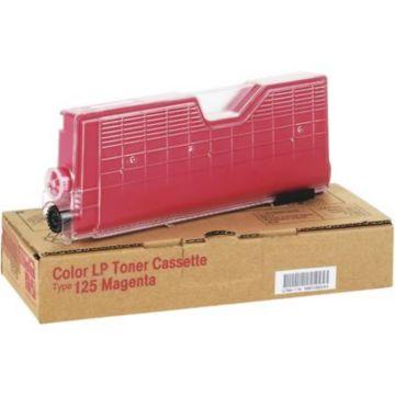 Original Ricoh Toner Cartridge Type 125 for Aficio CL2000, CL3000  Magenta