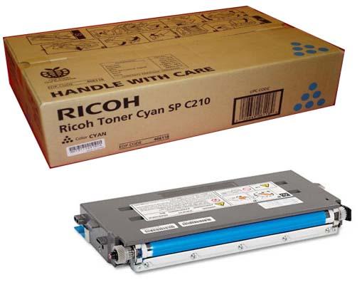 Original Ricoh Sp C210 Cyan Toner