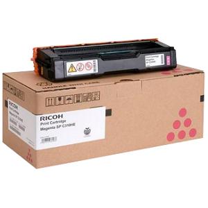 Original Ricoh Magenta Toner Cartridge  406346, Standard