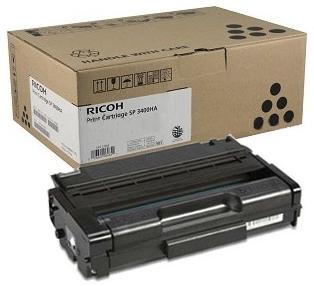 Original Ricoh Sp-3400ha Black High Yield Toner Cartridge