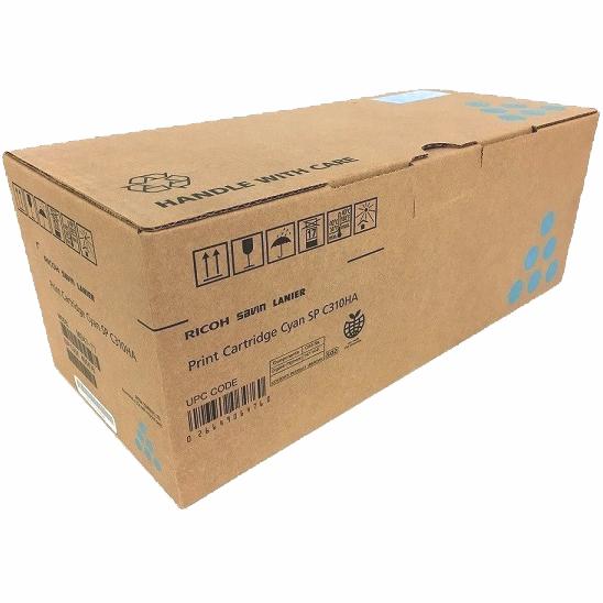 406476 | Original Ricoh High-Yield Toner Cartridge - Cyan