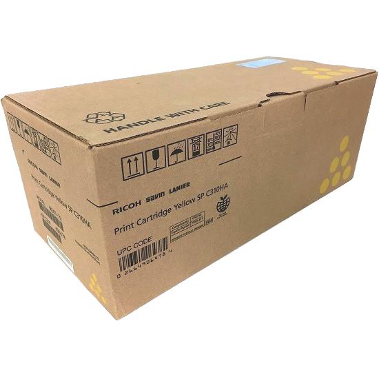 406478   Original Ricoh High-Yield Toner Cartridge - Yellow