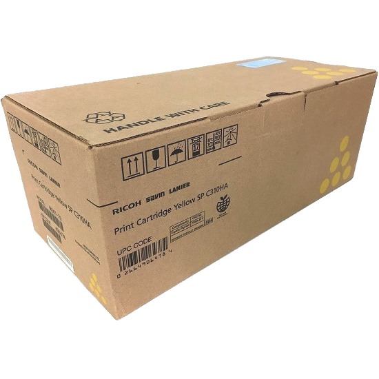 406478 | Original Ricoh High-Yield Toner Cartridge - Yellow