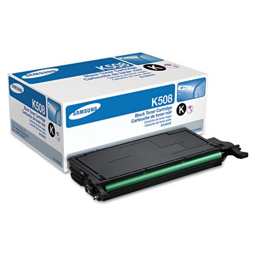 Original Samsung CLT-K508S Black Laser Toner Cartridge for CLP-620ND, CLP-670ND, CLP-670N