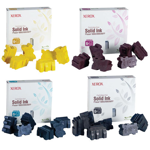 Phaser 8860 | 108R00746 108R00747 108R00748 108R00749 | Original Xerox Ink Cartridge Set – Black, Color